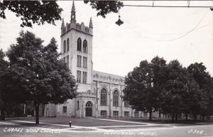 Minnesota Holland Chapel Hope College 1946 Real Photo
