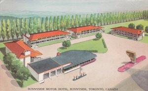 TORONTO , Ontario , Canada , 50-60s ; Sunnyside Motor Hotel