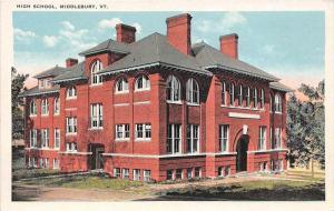 Vermont  Middlebury  High School