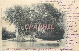 Postcard Old Deversoir of Naurouze Castelnaudary (map 1900)