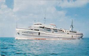 SS Milwaukee Clipper Luxury Liner, Lake Michigan, Milwaukee, Wisconsin, PU-1954