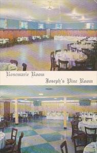 New Jersey Lyndhurst San Carlo Restaurant Rosemarie Room And Joseph's Pine Room