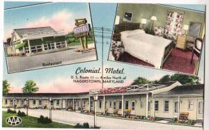 Colonial Motel, Hagerstown MD