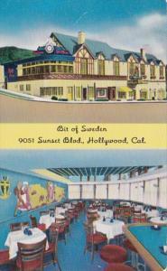 California Hollywood Bit Of Sweden Restaurant Sunset Boulevard