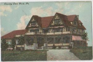 Country Club York PA 1910