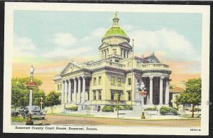 Somerset County Court House Somerset Pennslyvania Unused c1946