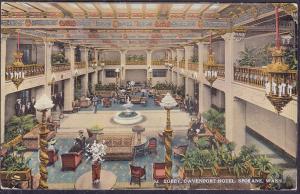 Lobby, Davenport Hotel, Spokane