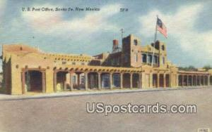 US Post Office Santa Fe NM Unused
