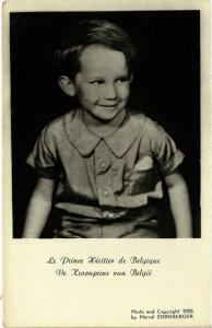 CPA Le Prince Heritier de Belgique BELGIAN ROYALTY (833161)
