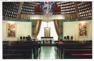Brasil Rio De Janeiro Rj Chapel Of The Most Holy Sacrament Behind The Presbytery