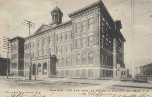 CAMDEN , New Jersey , PU-1911 ; High School