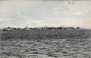 LP11 Steeplechase Island Bridgeport  Connecticut Postcard