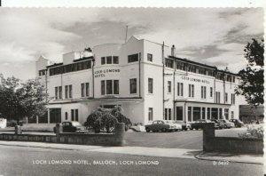 Scotland Postcard - Loch Lomond Hotel - Balloch - Real Photograph - Ref 16723A