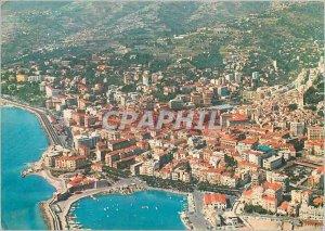 Postcard Modern San Remo Riviere flowers Plane View