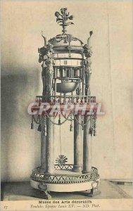 Old Postcard Musee des Arts Decoratifs Pendulum Louis XV