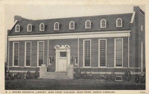 HIGH POINT, NC, 10-30s ; M.J. Wrenn Memorial Library, High Point College
