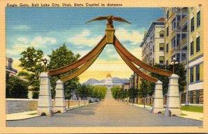 Utah Salt Lake City Eagle Gate