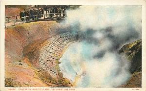 Crater of Mud Volcano at YELLOWSTONE NATIONAL PARK Postcard