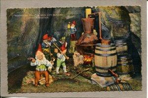 Postcard TN Rock City Lookout Mountain Moonshine Still c1944 085N