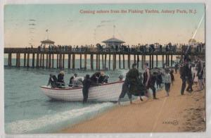 Coming Ashore from a Fishing Yacht, Asbury Park NJ