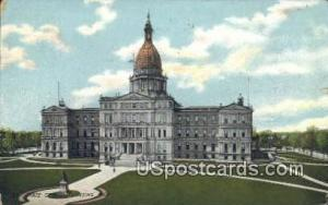 State Capitol Lansing MI 1912