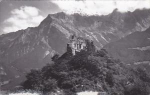 Switzerland Bad Ragaz Ruine Wartenstein 1959 Photo