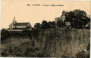 VIETNAM INDOCHINE - Annam - Tourane - Eglise et Hopital (190305)