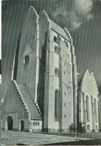 Copenhagen, Kobenhavn, Grundtvig's Church, Grundtvigskirken