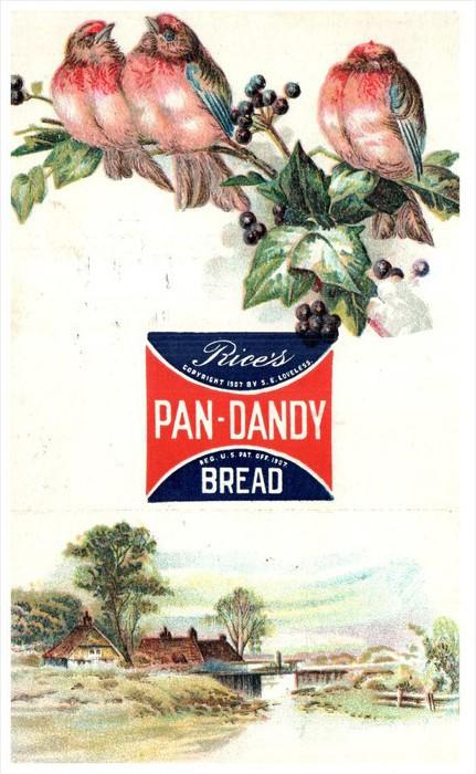 13603 Advertising    Pan-Dandy Bread