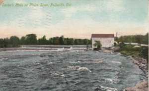 BELLEVILLE , Ontario , Canada , 1912 ; Lazier's Mills on Moira River