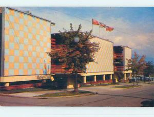 Unused Pre-1980 DOWNTOWNER MOTEL Vancouver British Columbia BC o0232