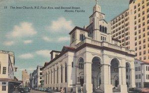 Miami , Florida , 30-40s ; The Jesu Church