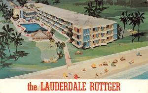 Fort Lauderdale Florida~Lauderdale Ruttger~Resort-O-Tel~1962 Artist Conception