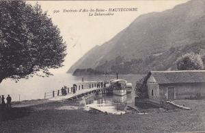 Environs d'Aix-les-Bains- HAUTECOMBE , Le Debarcadere , France , 00-10s