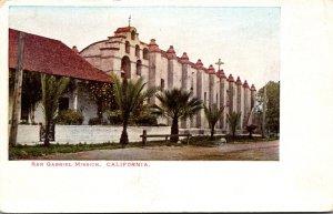 California San Gabriel Mission Founded 1771