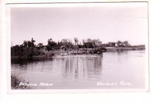 Bathing Beach Wolsley, Saskatchewan, Real Photo