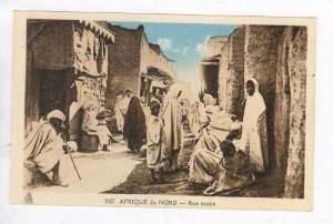 AFRIQUE du NORD - Rue arabe, 1910-20s