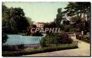 Old Postcard Montelimar Gardens