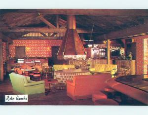 Unused Pre-1980 RESTAURANT SCENE Santa Maria California CA B8466-12