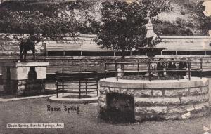EUREKA SPRINGS , Arkansas, PU-1910; Basin Spring, Fountain