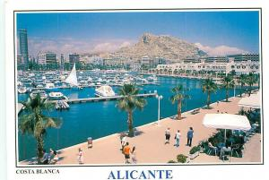 Old Vintage Postcards Hotel Alicante Costa Blanca Spain # 2207A