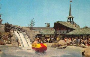 Matterhorn Bobsled DISNEYLAND Tomorrowland Ride c1960s Chrome Vintage Postcard