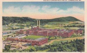 CUMBERLAND, Maryland, PU-1953 ; The Kelly Springfield Tire Co.