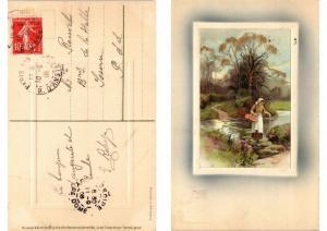 CPA AK In der Freien Natur Meissner & Buch Litho Serie 1526 (730781)
