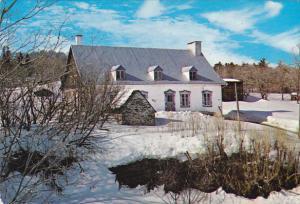 Canada Maison Lemelin Ile d'Orleans Quebec