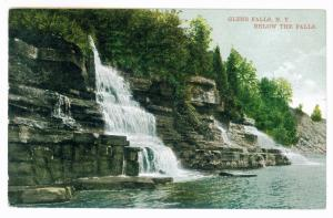 Sandy Hill to Dresden Center, New York used 1910 Postcard, Glens Falls