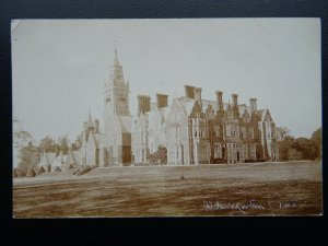 Berkshire ALDERMASTON COURT c1905 RP Postcard by H.A. King of Reading