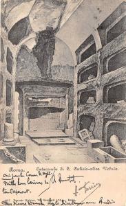 Br34135 Roma Catacombe di S. Calisto altra Veduta     Italy
