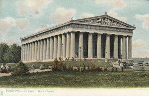 NASHVILLE, Tennessee, 1901-07; The Parthenon, TUCK # 2021