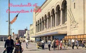 Boardwalk, Convention Hall in Atlantic City, New Jersey